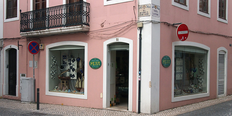 Mercearia Pena är en av flera populära delikatessbutiker i Caldas da Rainha.