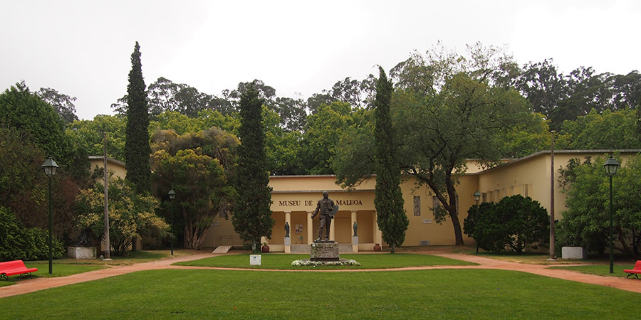 Museu de José Malhoa i Caldas da Rainha är Portugals första riktiga museum byggt 1940.