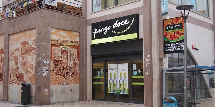 Pingo Doce har totalt tre butiker i Caldas da Rainha.
