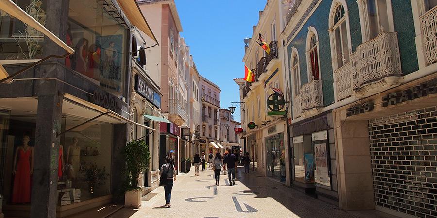 Shopping i Caldas da Rainha är ett trevligt nöje
