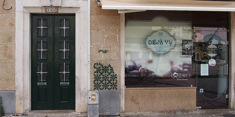 Déjà Vu är också en av många populära barer i Caldas da Rainha