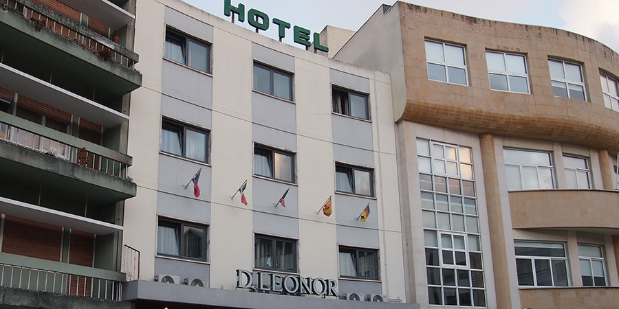 Hotel Dona Leonor, ett mindre hotell i Caldas da Rainha