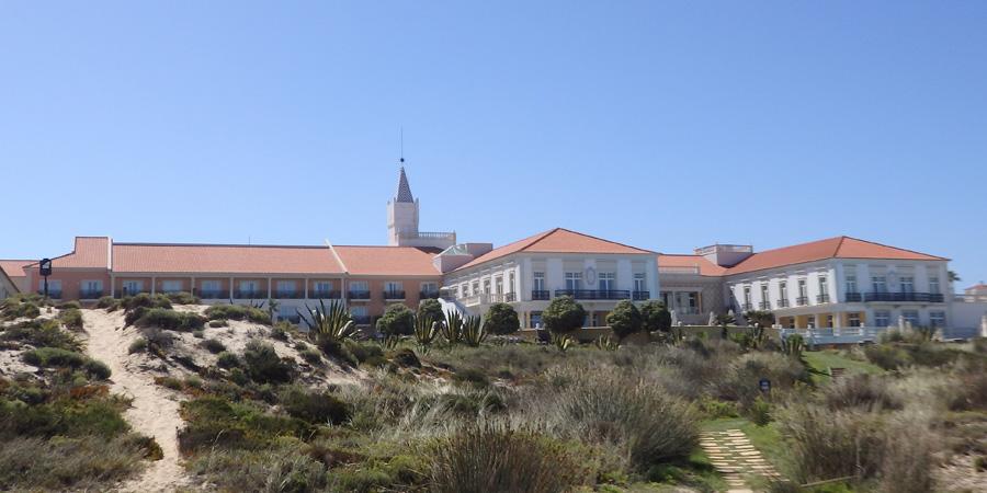Marriott Praia D'El Rey är ett femstjärnigt hotell inte långt från Caldas da Rainha