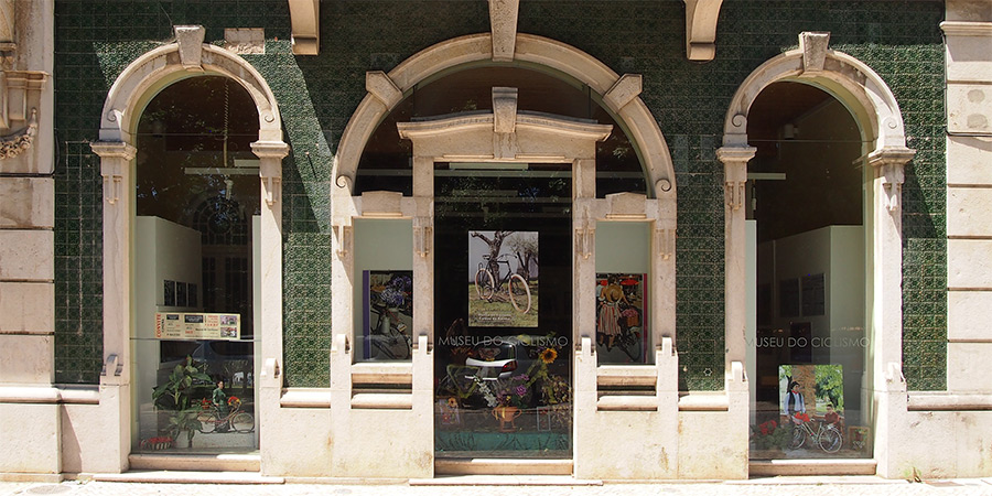 Museu do Ciclismo i Caldas da Rainha har intressanta utställningar kring cykelns historia i Portugal.