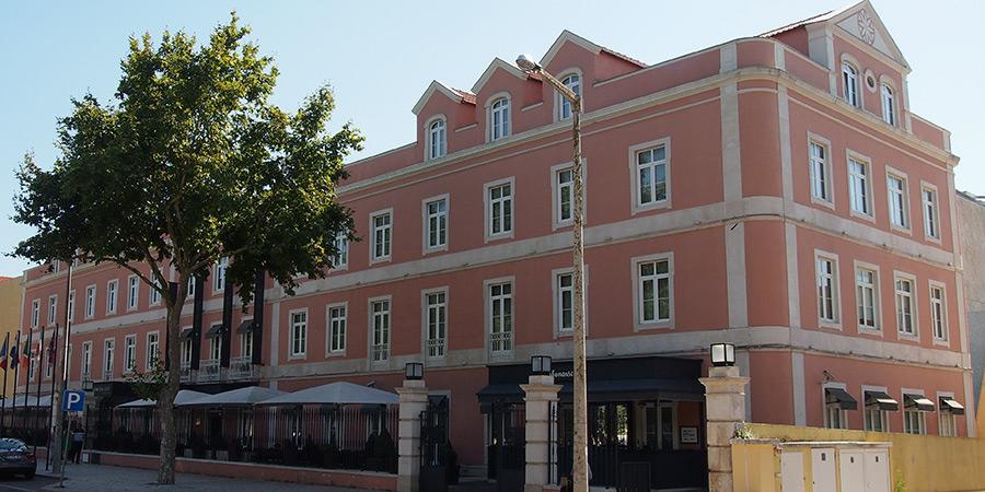 Sina Silver Coast Hotel, ett större 4-stjärnigt hotell i Caldas da Rainha