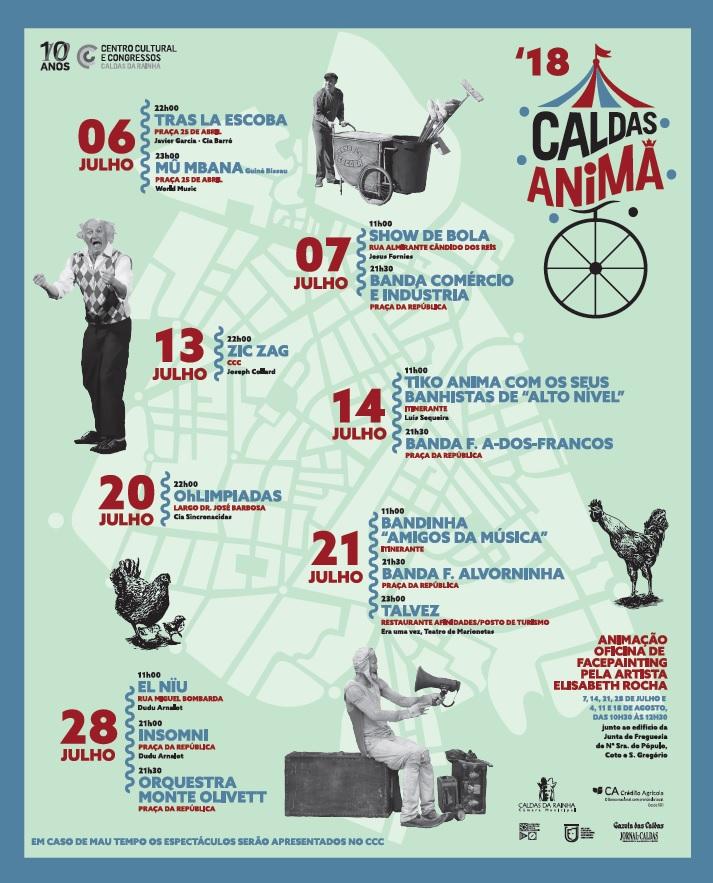 Caldas Anima i juli månad