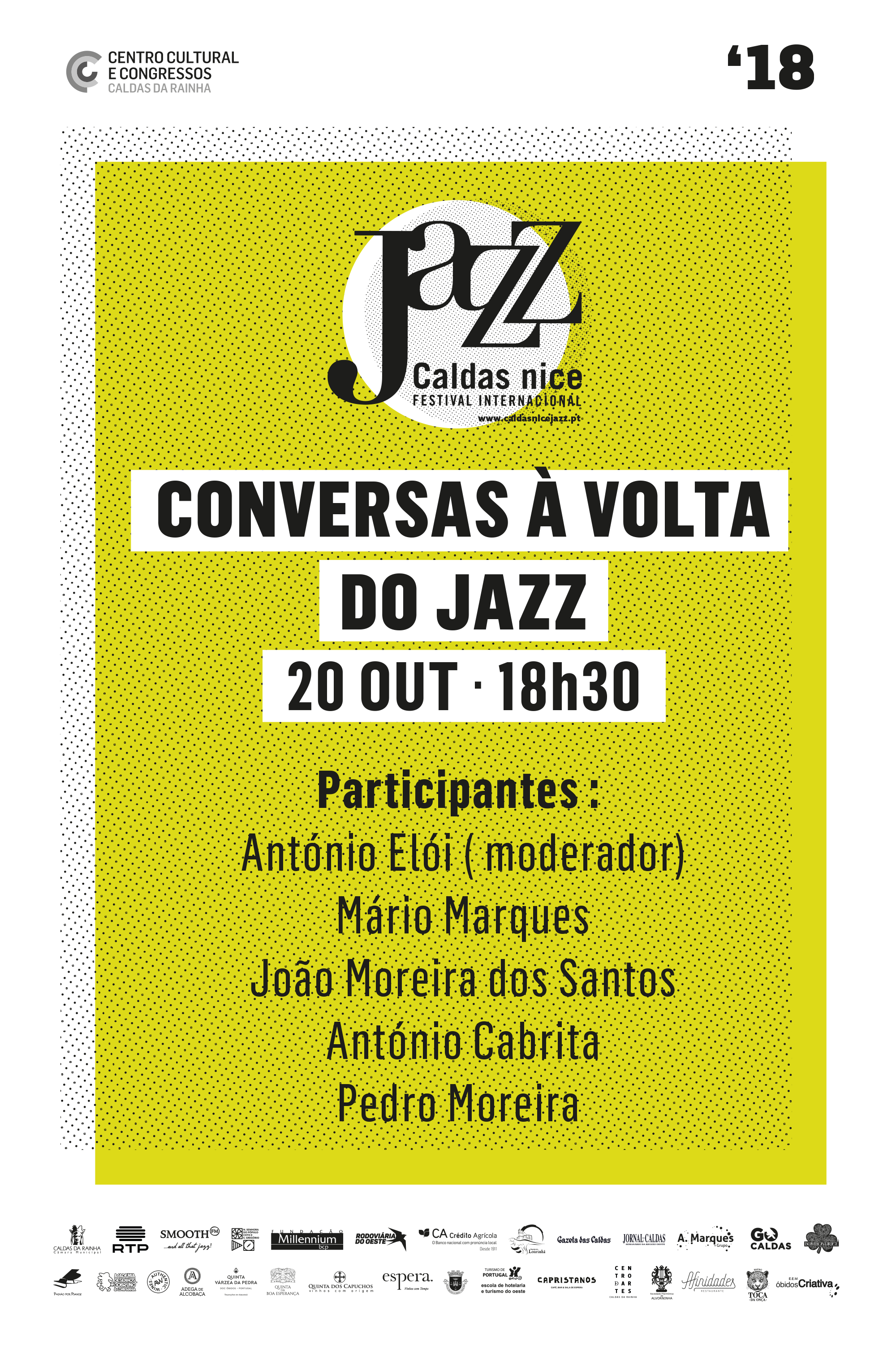 Conversas à volta do Jazz i Caldas da Rainha