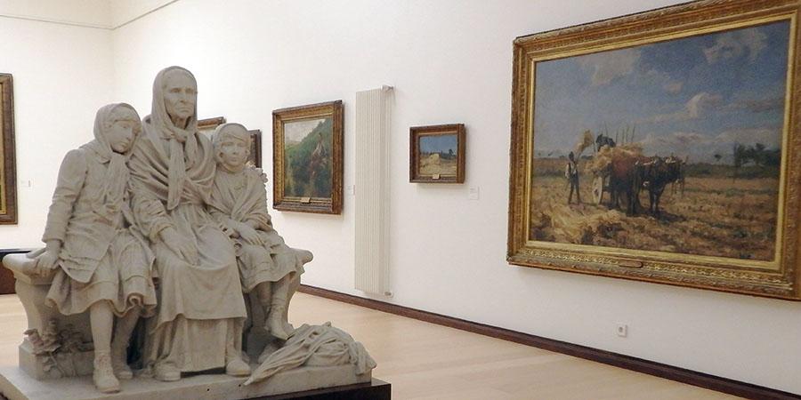 José Malhoa Museum i Caldas da Rainha