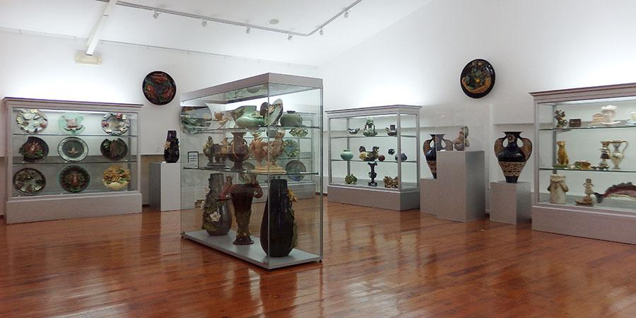 Utställning på Casa Museu São Rafael i Caldas da Rainha