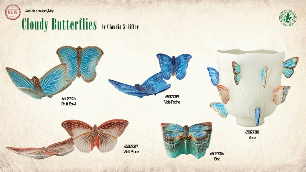 Cloudy Butterflies by Claudia Shiffer
