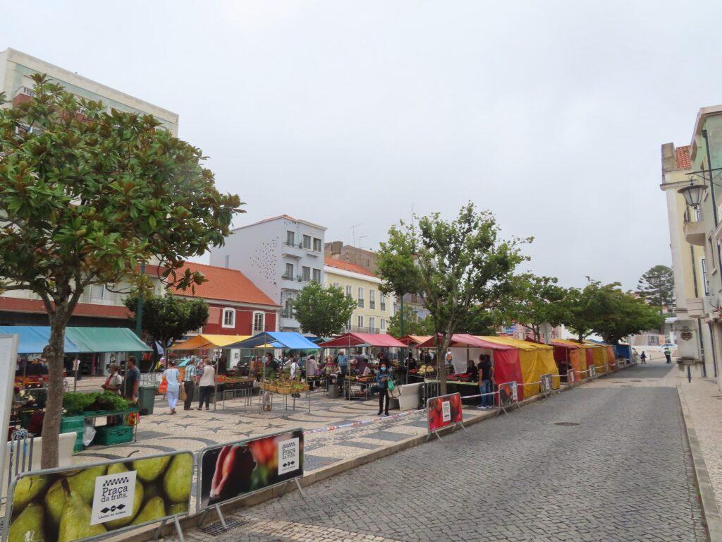 Praça da Fruta i Caldas da Rainha
