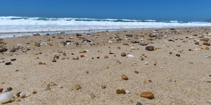 Praia do Mar stranden nära Caldas da Rainha