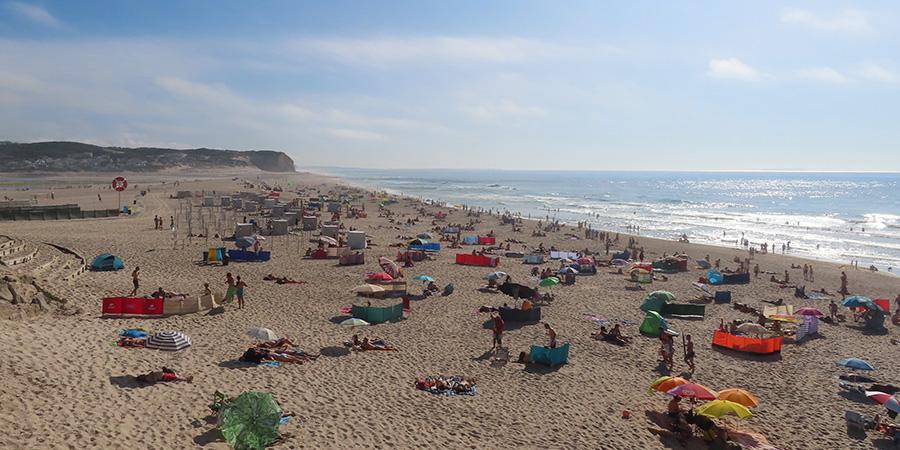 Praia do Mar at Foz do Arelho Visit Caldas da Rainha